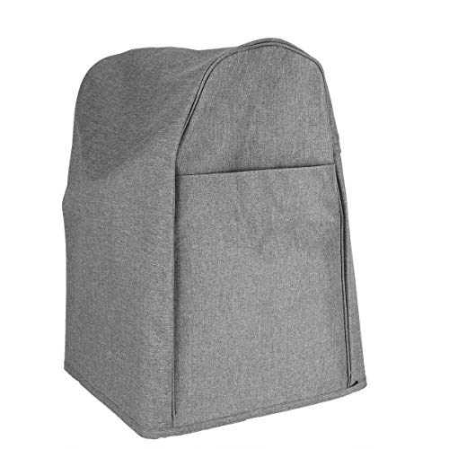 ROSEBEAR Exquisite Staubschutz-Standmixer mit Seitentaschen Schutzhülle für 5 Und 8 Liter Küche (Grau)