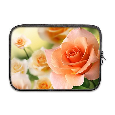 Custom Cool Rose Sleeve for Macbook Air 13'(Twin Sides)