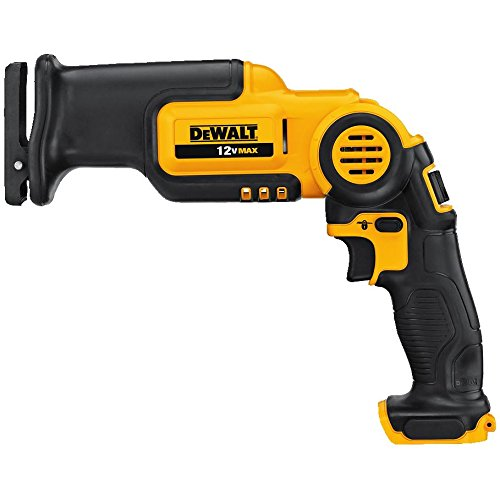 DEWALT 12V MAX Reciprocating Saw, Pivoting, Tool Only (CS310B)