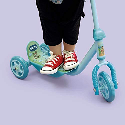 Patinete 3 Rodas Infantil Azul Mor