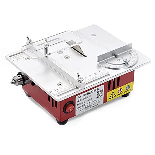 Montloxs T30 Mini sierra de mesa multifuncional Sierras eléctricas de escritorio Herramienta...