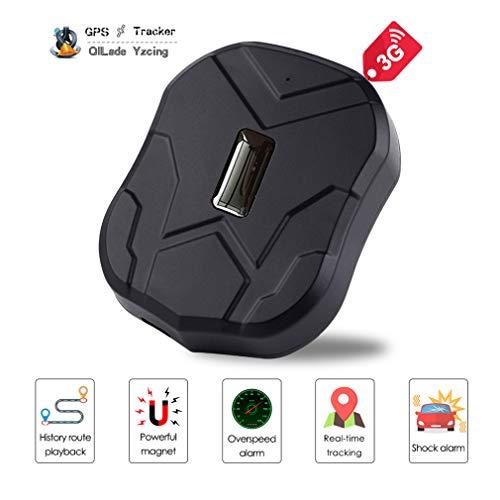 Rastreador GPS de vehículos ocultos,60 días en espera Impermeable Vehículo en tiempo real Rastreador GPS Alarma antirrobo Dispositivo de rastreo de automóviles Imán fuerte para camiones de motocicleta