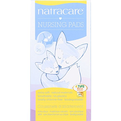 Review Of Natracare Natural Nursing Pads - No Plastic - No perfumes - 26 Count (Pack of 2)