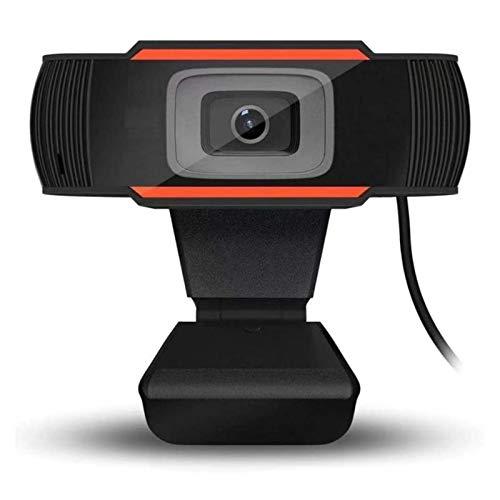 Fesjoy Cámara de Conferencia HD, Cámara de videoconferencia Cámara Web de 1080P HD Cámara de computadora con micrófono con reducción de Ruido USB Plug & Play para videoconferencia Capacitación en