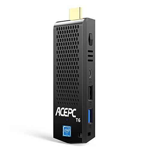Mini PC Stick Windows 10 Pro, 8GB DDR/ 120GB eMMC Intel Atom Z8350 Computer...