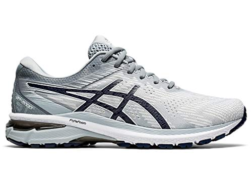 ASICS Men's GT-2000 8 Running Shoes, 10M, Piedmont Grey/Peacoat