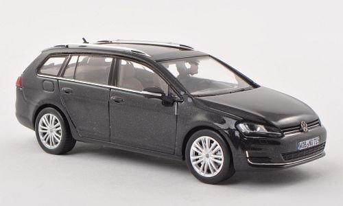 VW Golf VII Variant, met.-schwarz, 2013, Modellauto, Fertigmodell, Herpa 1:43