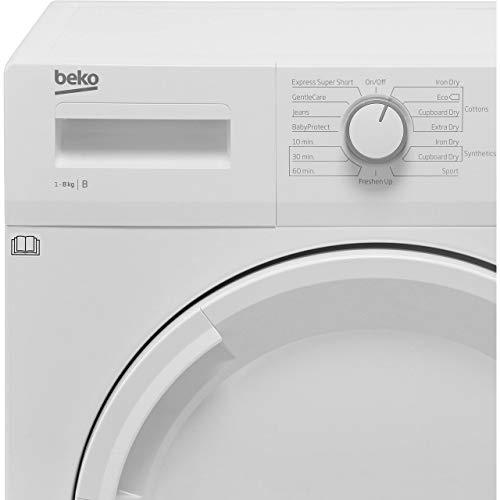 Beko DTGC8001RW 8Kg Condenser Tumble Dryer – White