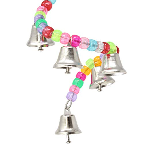 890 Ring My Bell Bonka Bird Toys Small Colorful Beads Assorted Budgie Finch Parrotlet Quaker Dove