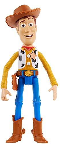 Toy Story- Disney Muñeco Woody Parlanchín, Multicolor (Mattel GPJ28)