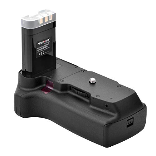 Newmowa MB-D5000H Mango de Repuesto Battery Grip para Nikon D40 D60 D3000 D5000 Cámara réflex Digital