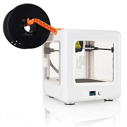 Tragbare 3D-Drucker Mini-Desktop-3D-Druckset für Anfänger, 3D-Drucker mit abnehmbarer Bauplattform für Familienkinder - L188 * D188 * H198mm