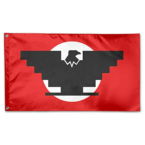 YIWUJUZE Aztlan Huelga Bird Single-Layer Banner Breeze Home Garden Flag 3