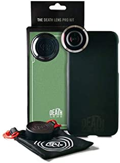 Death Lens iPhone Xs Pro Fisheye Lens kit – 200 Degree, No Vignette, Crystal Clear Picture Every Time, HD Picture