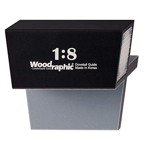 Woodraphic All New Dovetail Hand Magnetic Saw Guide Jig Marker