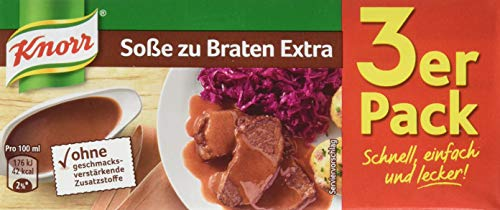 Knorr Sauce zu Braten Extra Packung, 15er Pack (15 x 750 ml)