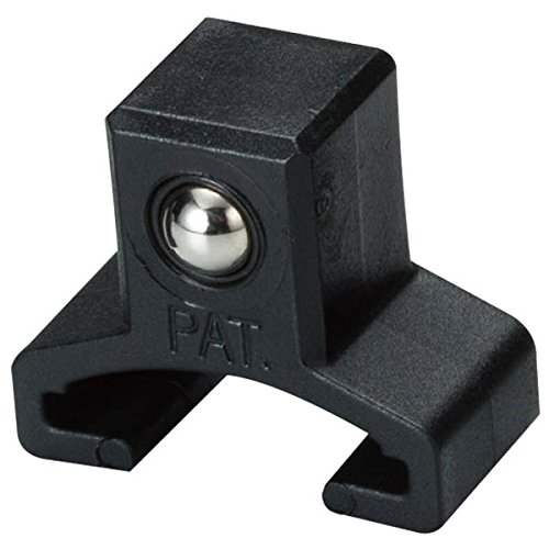 ARES 70081-10-Piece 1/4-Inch Drive Black Spring Loaded Ball Bearing Socket Clips - Additional Clips for Use with ARES Aluminum Socket Rails