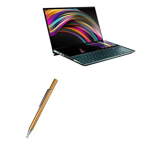 Caneta Stylus BoxWave para ASUS ZenBook Pro Duo UX581GV [FineTouch Capacitive Stylus] Caneta Stylus super precisa para ASUS ZenBook Pro Duo UX581GV - Champagne Gold