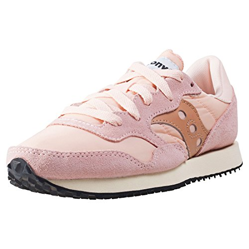 Saucony Womens Tan DXN Vintage Trainers