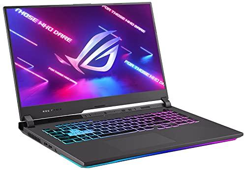 CUK ROG Strix G17 Gaming Notebook (AMD Ryzen 9, 2X8GB RAM, 512GB NVMe SSD, NVIDIA GeForce RTX 3060 6GB, 17.3' FHD 144Hz Display, Windows 10 Home) 17 Inch Gamer Laptop Computer (Made_by_ASUS_)