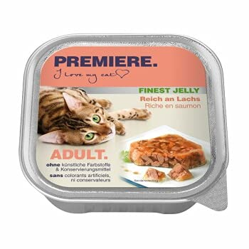 Premiere Finest Jelly Reich an Lachs - Adult 8*100 Gramm