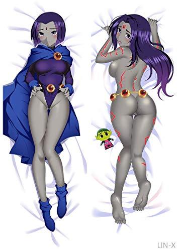 Raven – Teen Titans Japanische Kissenbezüge, 137 x 50 cm