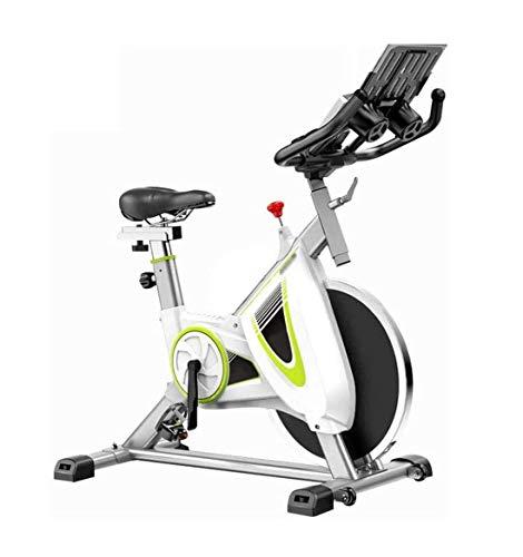 ZOUSHUAIDEDIAN Bicicleta estática, la Bicicleta estática magnética de la Correa de accionamiento fijos, Cubierta con la Bici de Alta Capacidad de Peso Ajustable magnética sostenedor de la Resistencia