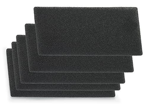 Supremery 5 filtri per asciugatrice Bauknecht Privileg Whirlpool HX 481010354757 | 225 x 107 x 8 mm | Filtro in spugna per filtro, tappetino asciugabiancheria