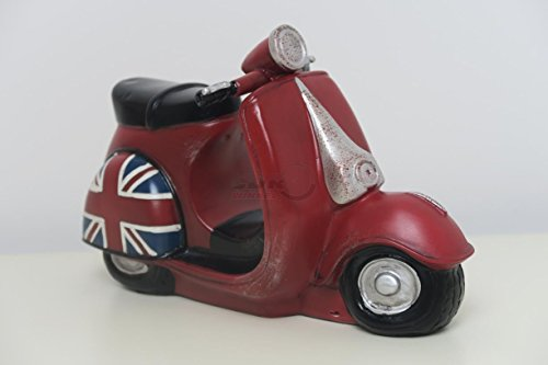 Vespa Scooter tafellamp/nachtlampje voor kinderkamer - Engeland