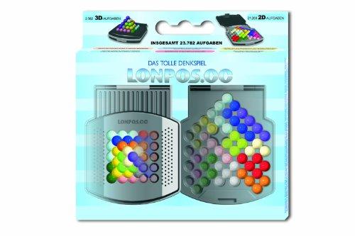 Lonpos 98006 - farbiger Brainteaser, Gehirntrainer