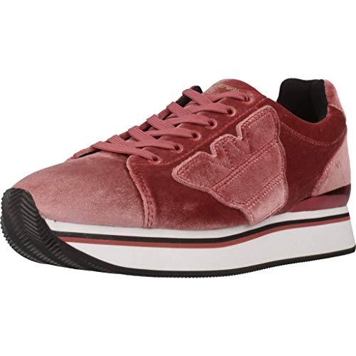 Emporio Armani Damen Laufschuhe X3X057 XD163 Pink 40 EU