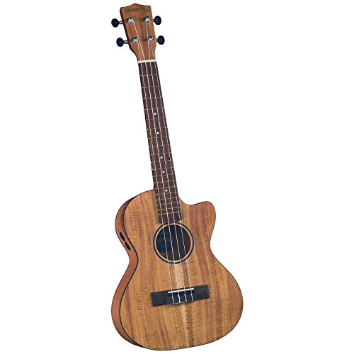 Other, 4-String Electric/Acoustic Cutaway Ukulele Outfit, Natural (DU-350TCE)