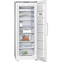 Siemens GS58NAW41 - Congelador (Vertical, Independiente, Color blanco, 360L, 22 kg/24h, 25h)