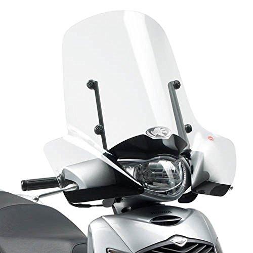 Kappa 313A Pare-Brise spécifique Transparent 55 x 66 cm (H x l) Fixations exclues pour Honda SH 125i-150i (05 > 08) Honda SH 125i-150i (09 > 12)