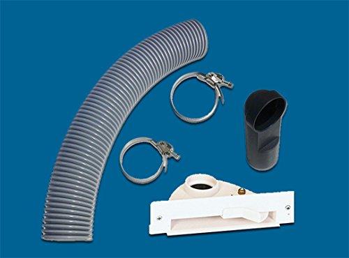 AERTECNICA serie Vac Pan PA400 stopcontact voor meubels / plinten wit met montageset