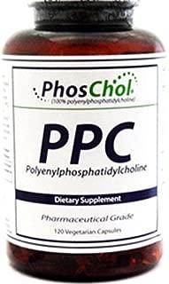 Nutrasal (PhosChol) PhoSchol 600 mg Vegeterian 120 caps by Nutrasal