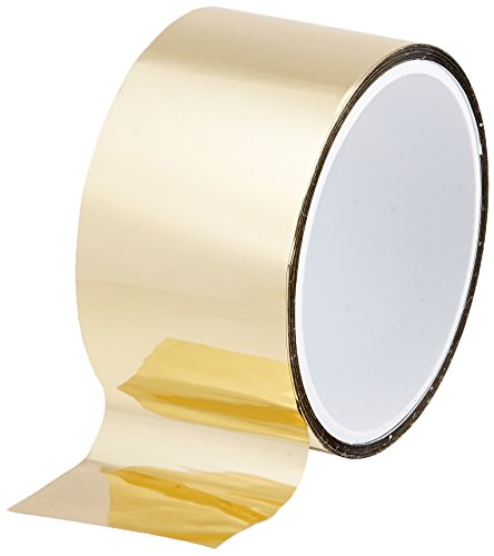 tapecase 3/4–5-mpft-gold metallisiert Polyester Film Tape 3/10,2 cm X 5yds – Gold