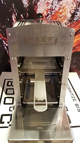Beef Grill | Oberhitze Gasgrill aus Edelstahl für Temperaturen bis zu 800° C | Hochleistungs Gas Grill für Steaks wie vom Profi | aus hochwertigem Edelstahl, Modell 2020
