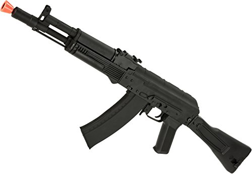 Evike Airsoft - CYMA Sport Airsoft AK105 AEG Rifles with Side Folding Polymer Stock (Package: Gun Only)