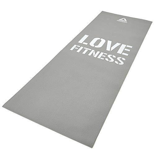 Reebok Fitness Matte - Love Grau inkl. Gewichtsmanschetten, 53724