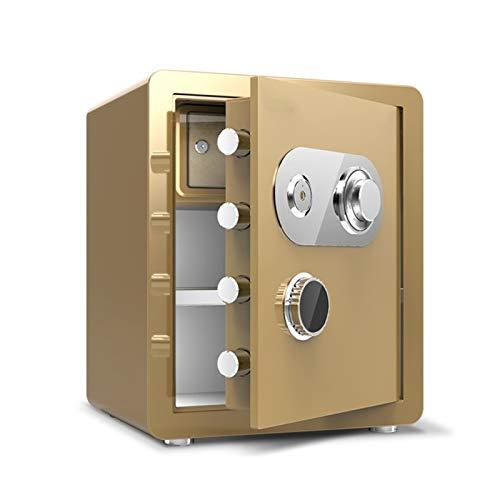 XHMCDZ Cajas Fuertes de Seguridad Digital-electrónica Caja Fuerte de Acero, Dinero Override Keys-Protect Manual, Joyas, pasaportes-residencial, Comercial o de Viaje
