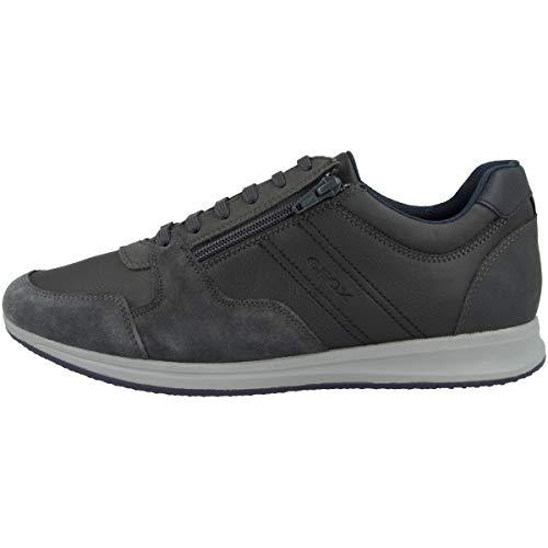 Geox U Avery B - Zapatillas deportivas para hombre, color Gris, talla 45 EU