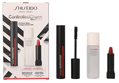 Geschenkset Controlled Chaos Mascara Ink Nr. 01 Black Pulse 11,5 ml + Generic Skincare Eye & Lip Make up Remover 30 ml + ModernMatte Powder Lipstick Nr. 516 4 g 1 Stk.