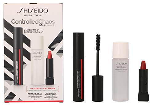 Geschenkset Controlled Chaos Mascara Ink Nr. 01 Black Pulse 11,5 ml + Generic Skincare Eye & Lip Make up Remover 30 ml + ModernMatte Powder Lipstick Nr. 516 4 g 1 Stk.
