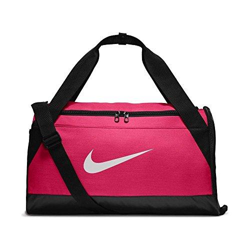 Nike Nk Brsla S Duff Borsa sportiva da allenamento Unisex adulto, Rosa (Rush Pink/ Black), Taglia Unica