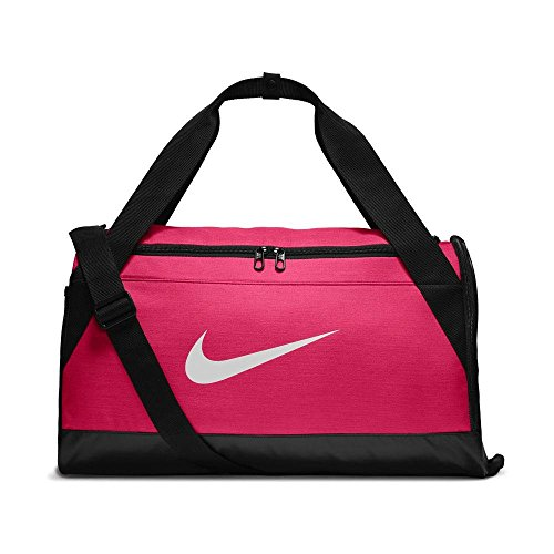 Nike Polyester 45 cms Rush Pink/Black/White Travel Duffle (BA5335-644)