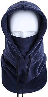Koolip Fleece Hood Windproof Ski Mask Balaclava - Tactical Heavyweight Neck Warmer Outdoor Sports Mask in Cold Weather
