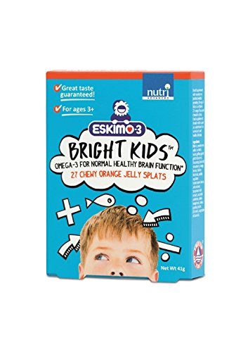 Eskimo-3 Bright Kids 27 Chewy Orange Jelly Splats
