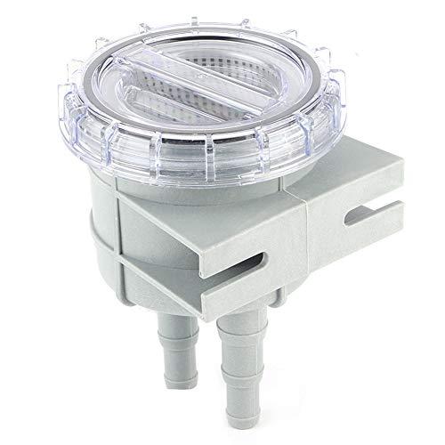EBTOOLS Seewasserfilter, 4,3-Zoll-Einlass-Seewassersiebfilter Motor Protect Cleaner Kühlbootzubehör für 1/2in 5/8in 3/4in-Schlauch