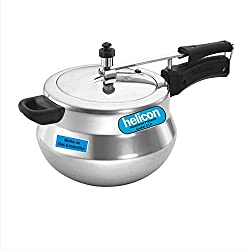 Helicon Aluminium Handi Pressure Cooker - Best Pressure Cooker in India